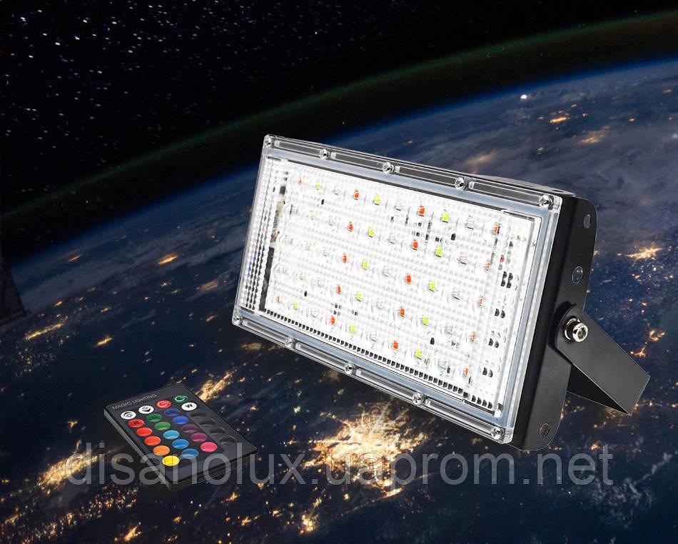 Прожектор LED  MRY-TGD-50W RGB IP65