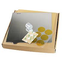 Платформа с подогревом 235 * 235 мм Сталь с горячей кроватью Пластина с круглой наклейкой Магнит + Магнитic + лист PEI для 3D-принтера - 1TopShop, фото 3