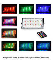 Прожектор LED  MRY-TGD-50W RGB IP65, фото 6