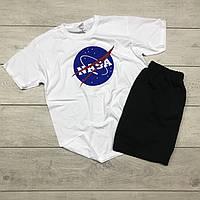 Мужской комплект футболка+шорты Nasa ST514, Реплика