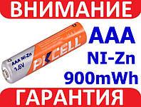 Аккумулятор ААА 1,6В Ni-Zn PKCELL 900mWh мВтч