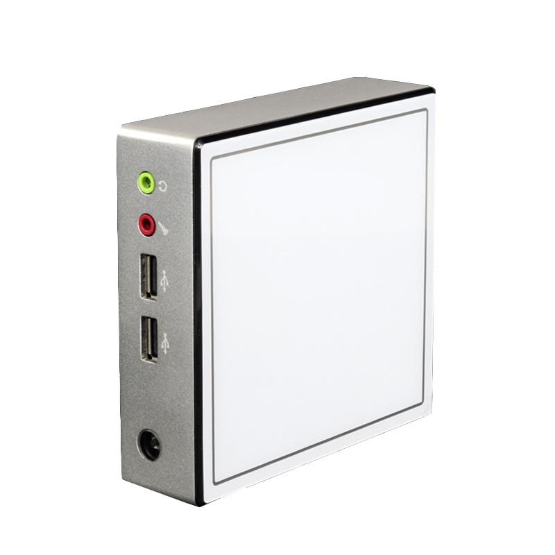 XCYX37MiniPCIntelCeleron 2955U 4 GB + 60 GB / 4 GB + 120 GB Dual Core Windows 10 Linux DDR3L 300M WiFi Ultra Compact Stationär Dator Box SATA