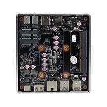 XCYX37MiniPCIntelCeleron 2955U 4 GB + 60 GB / 4 GB + 120 GB Dual Core Windows 10 Linux DDR3L 300M WiFi Ultra Compact Stationär Dator Box SATA, фото 3