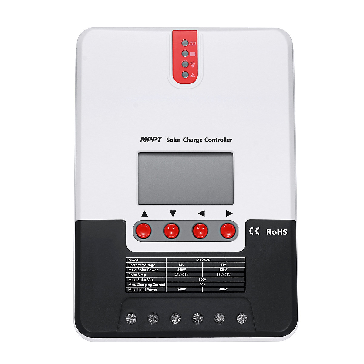 12V / 24V Auto Солнечная Панель управления зарядным устройством PWM Батарея Регулятор заряда 20A/30A/40A - 1TopShop