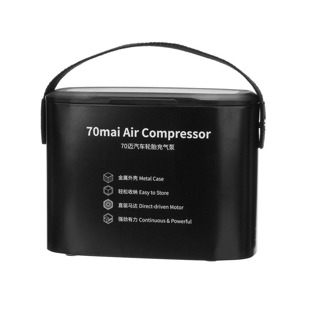 XIAOMI 70mai Bärbar Fordonsmonterad luftpumpluftkompressor - 1TopShop