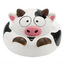 Squishy Cow 10 см Медленный рост коллекции животных Подарочный декор Мягкая игрушка - 1TopShop, фото 2