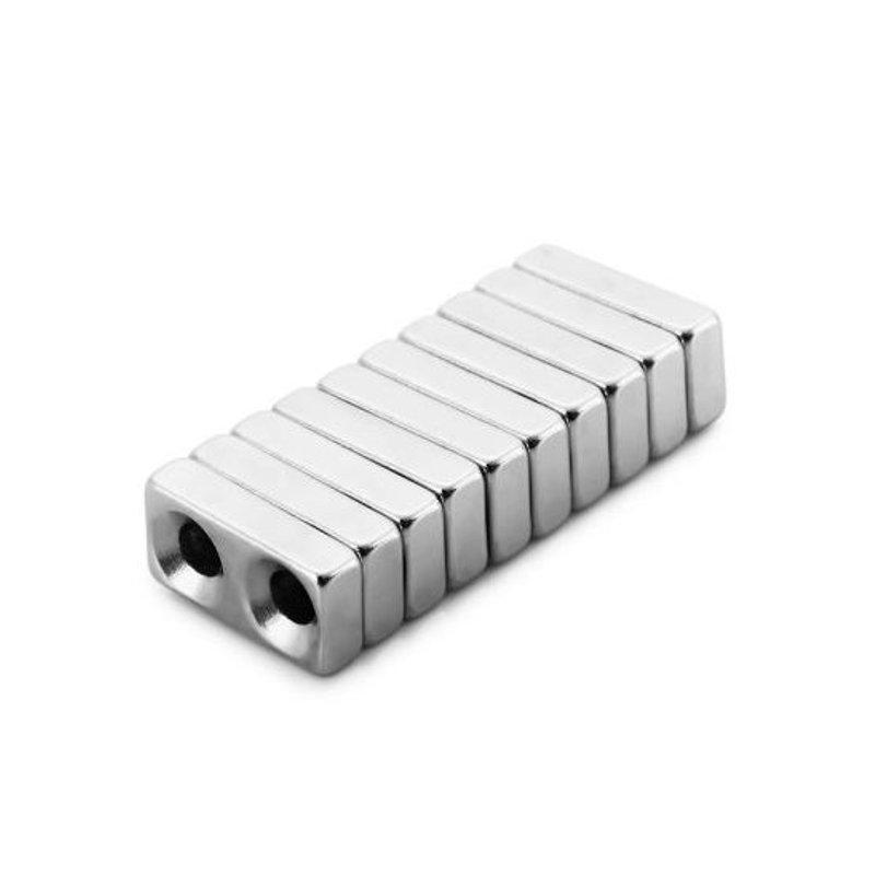 10Pcs20x10x5мм N38 Магнитные игрушки Мощный креативный NdFeB Cube для детей Для взрослых DIY - 1TopShop