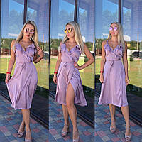 Шёлковое платье, фото 1