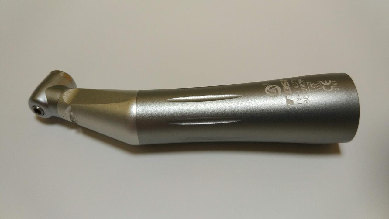 Угловой наконечникTOSITX-414C(7)LED, наконечник микромоторный кнопочныйвнутренняя подача воды