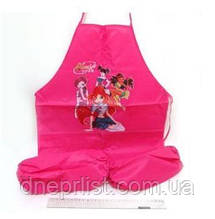 """Детский фартук с нарукавниками """"Winx"""" розовый"""