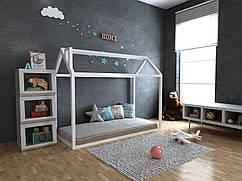 Детская Деревянная кровать домик Аннети 70х140 см ТМ MegaOpt