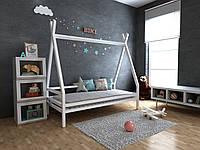 Детская Деревянная кровать домик-Вигвам Моана плюс 70х140 см ТМ MegaOpt
