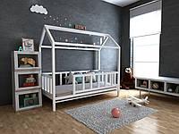 Детская Деревянная кровать домик Тедди 70х140 см ТМ MegaOpt