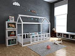 Дитяча Дерев'яне ліжко будиночок Тедді плюс 70х140