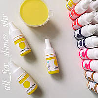 Краситель для слайма, Lemon Yellow, 5 мл
