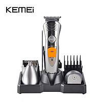 Машинка для стрижки волос 7 в 1 Kemei KM-580A + триммер