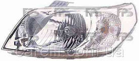 Фара передняя для Chevrolet Aveo '08- правая (DEPO) под электрокорректор