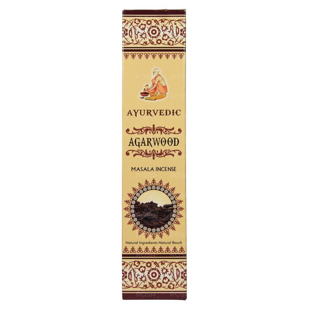 Благовония Агарвуд (Agarwood, Ayurvedic) - агаровое дерево, 15 штук