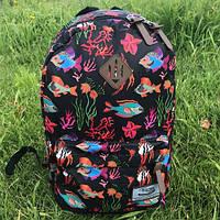 Рюкзак молодежный Favor (рыбки)