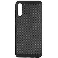 Ультратонкий дышащий чехол Grid case для Samsung Galaxy A50 (A505F) / A50s / A30s