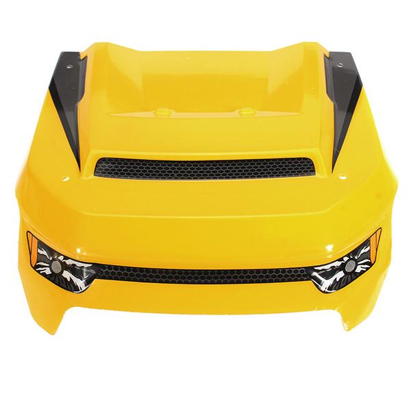 HBX 1/6 T6 TS072Y кузов Желтого переднее стекло Щит RC автомобили Запчасть - 1TopShop