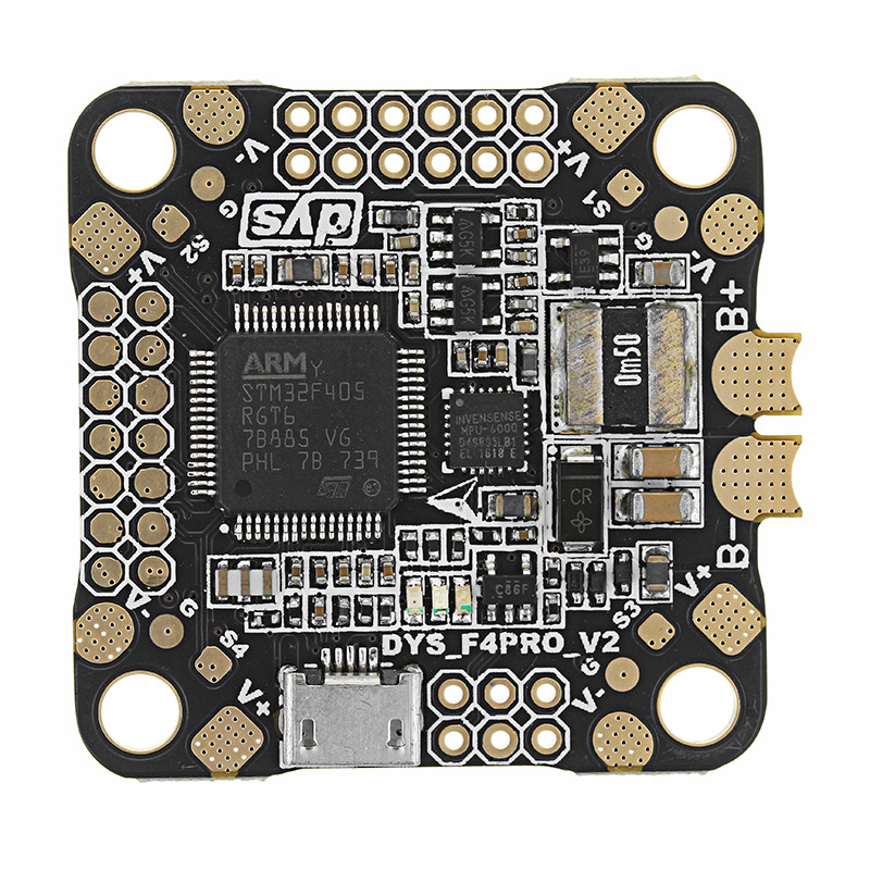Обновленный DYS 30.5x30.5 мм Omnibus F4 Pro V2 Контроллер полета Плата Панель AIO OSD & BEC & Датчик тока - 1TopShop