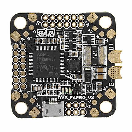 Обновленный DYS 30.5x30.5 мм Omnibus F4 Pro V2 Контроллер полета Плата Панель AIO OSD & BEC & Датчик тока - 1TopShop, фото 2