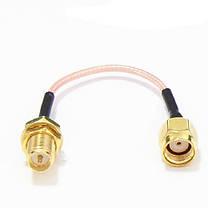 6PCS 60мм Low Loss Antenna удлинитель провода Fixed Base для антенны SMA RP-SMA - 1TopShop, фото 2