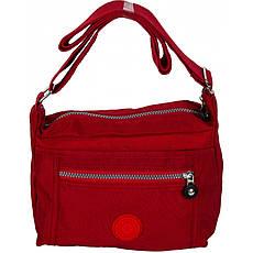 Сумка женская №9001 кринкл Красный