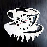 Настенные деревянные часы Shasheltoys  Диаметр 35 см (090108)