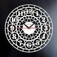 Настенные деревянные часы Shasheltoys Диаметр 35 см (090107)