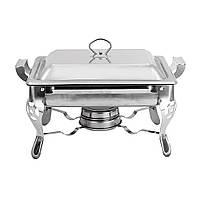 Плита шведского стола нержавеющей стали толщиной 6L 6L для варить хранение еды постоянной температуры - 1TopShop