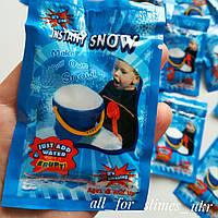 """Искусственный снег """"Instant snow"""" для слайма, 10 г"""