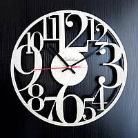 Настенные деревянные часы Shasheltoys Арабские цифры Диаметр 36 см (090101)