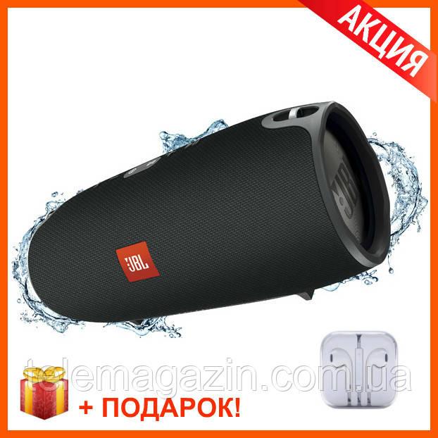 Беспроводная Bluetooth Колонка JBL Xtreme Black (Черная) КАЧЕСТВО + Наушники EarPods в Подарок!