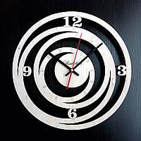 Настенные деревянные часы Shasheltoys Диаметр 35 см (090102)