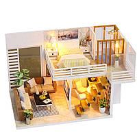Iiecreate K031 Simple And Elegan DIY Кукла Дом с мебельной крышкой - 1TopShop