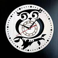 Настенные деревянные часы Shasheltoys  Диаметр 35 см (090111)
