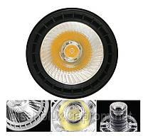 Светильник светодиодный трековый на шинопровод DL30-006 LED 30W 6500К  черный, фото 7