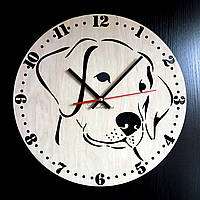 Настенные деревянные часы Shasheltoys Диаметр 35 см (090110)