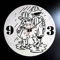 Настенные деревянные часы Shasheltoys Диаметр 35 см (090109)