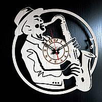 Настенные деревянные часы Shasheltoys  Диаметр 35 см (090116)