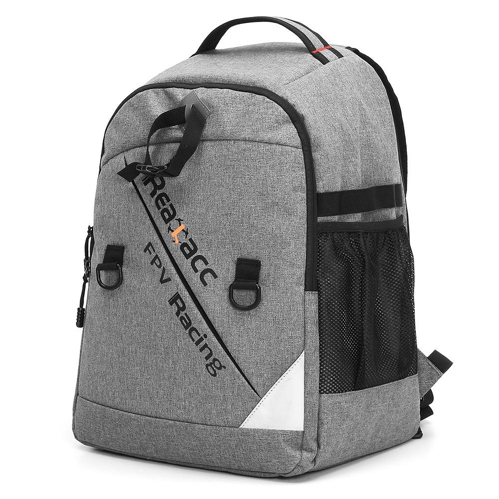 Realacc Рюкзак Чехол с разъемом Водонепроницаемыая сумка для передатчика для РУ Дрона FPV - 1TopShop