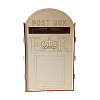 Träbröllop Fru Postboks Royal Mail Stil För Kort Brev Presenter Meddelande Decor Supplies - 1TopShop