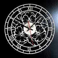 Настенные деревянные часы Shasheltoys  Диаметр 35 см (090115)