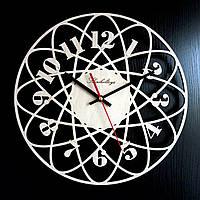 Настенные деревянные часы Shasheltoys Диаметр 35 см (090113)