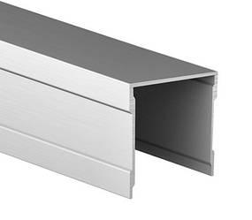 Направляющий верхний одинарный профиль для шкафа купе | Верхняя монорельса 111