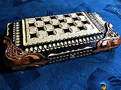 Шахматы-нарды ручной работы, фото 3