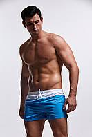 Короткие мужские пляжные шорты AQUX