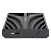 HYSTOUFMP05BMiniPCi78550U 8 GB + 128 GB / 8 GB + 256 GB Quad Kärna Win10 DDR4 Intel UHD Grafik 620 5.0 GHz Fläktlös Mini Stationär PC SATA MSATA